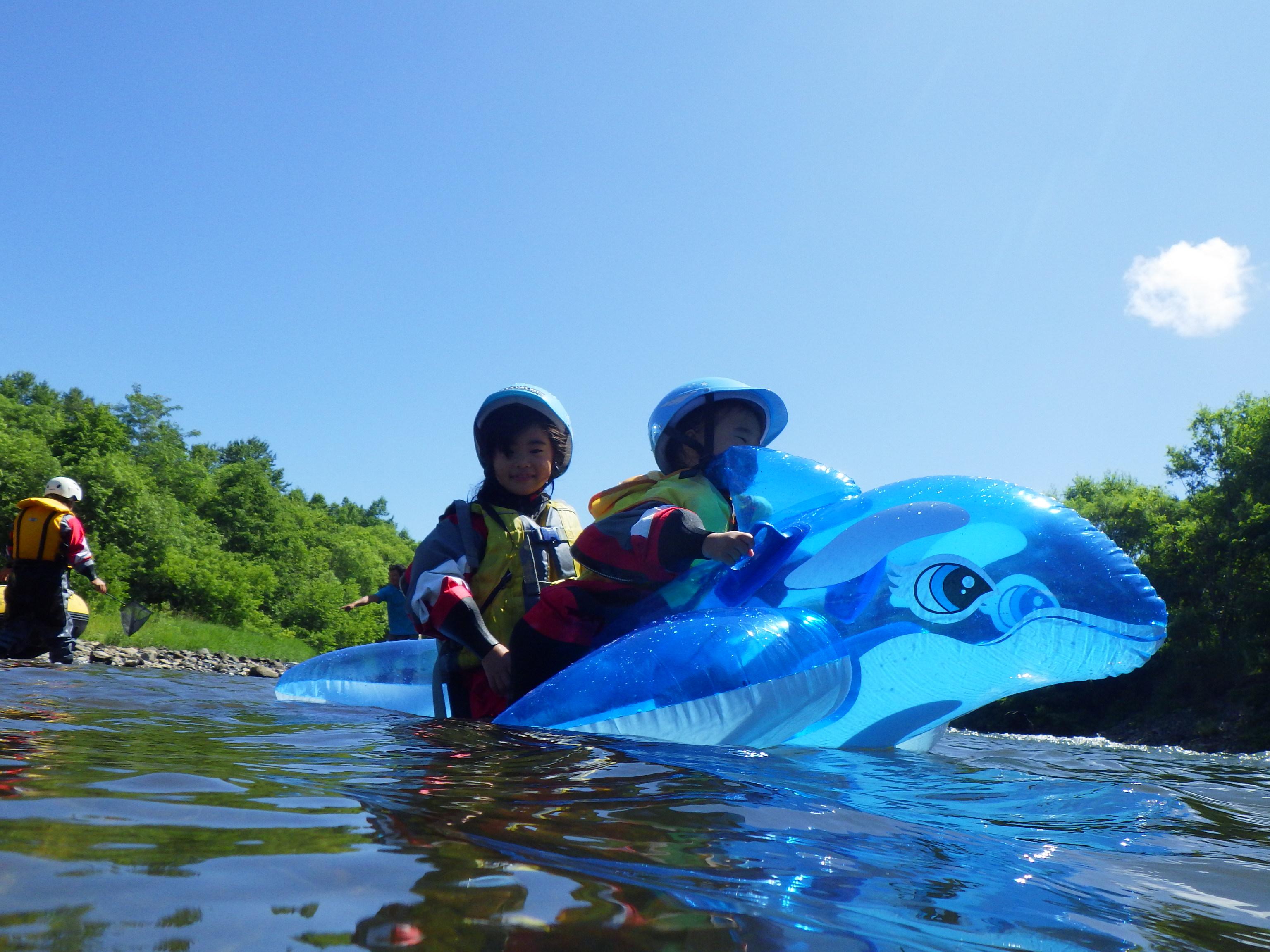 Kids Rafting【Private Boat】